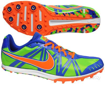 Cross country running shoes