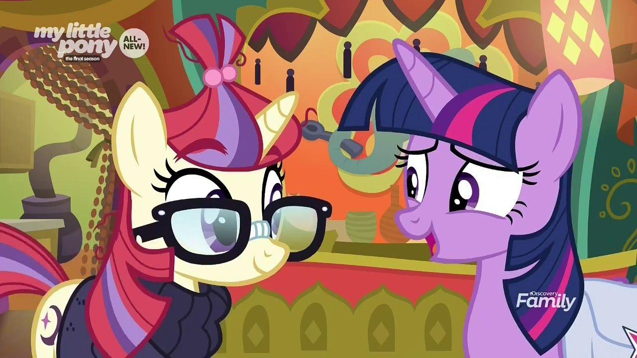 Twilight sparkle met Moondancer - MY little Pony: FIM Season