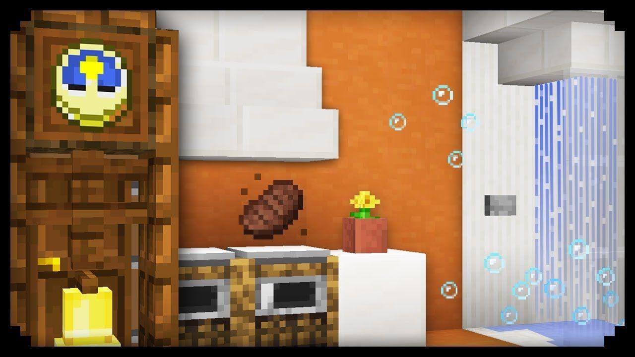 Minecraft 10 Easy House Furniture Design Ideas Youtube In 2020 House Furniture Design Simple Furniture Design Design