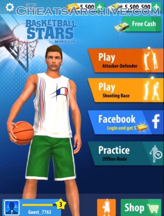 basketball stars mod apk hack