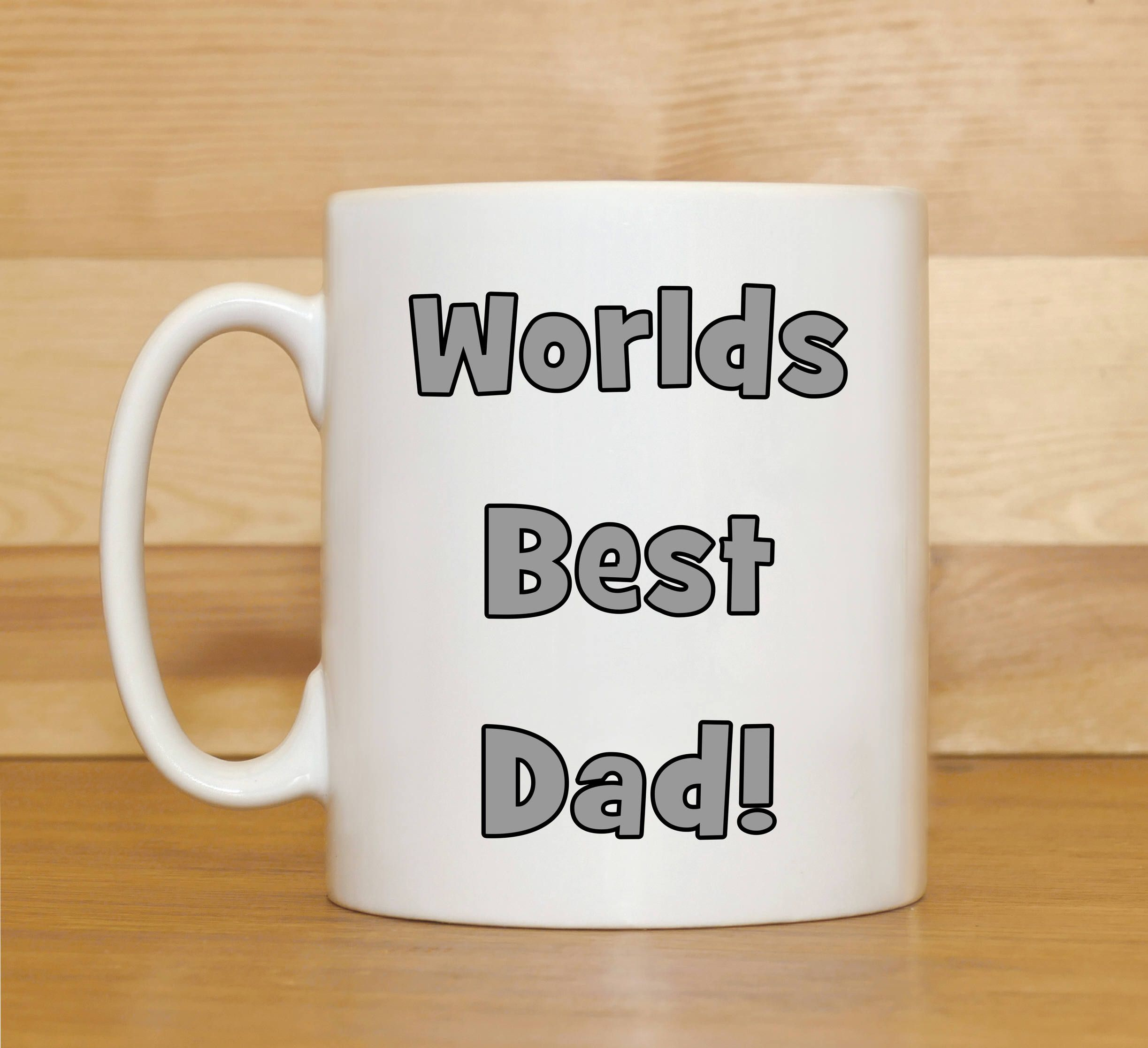 Worlds Best Dad mug, Dad mug, Gift for Dad, Christmas gift Dad, Gift ...
