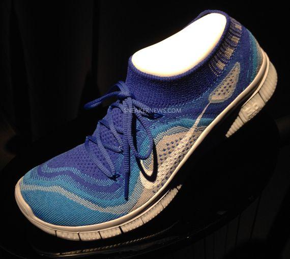 Nike Free Flyknit Blau Grau SneakerNews free  | Nike free SneakerNews flyknit 041bb9