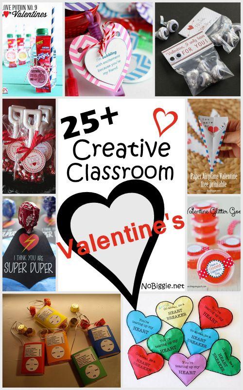 Creative Classroom Valentines