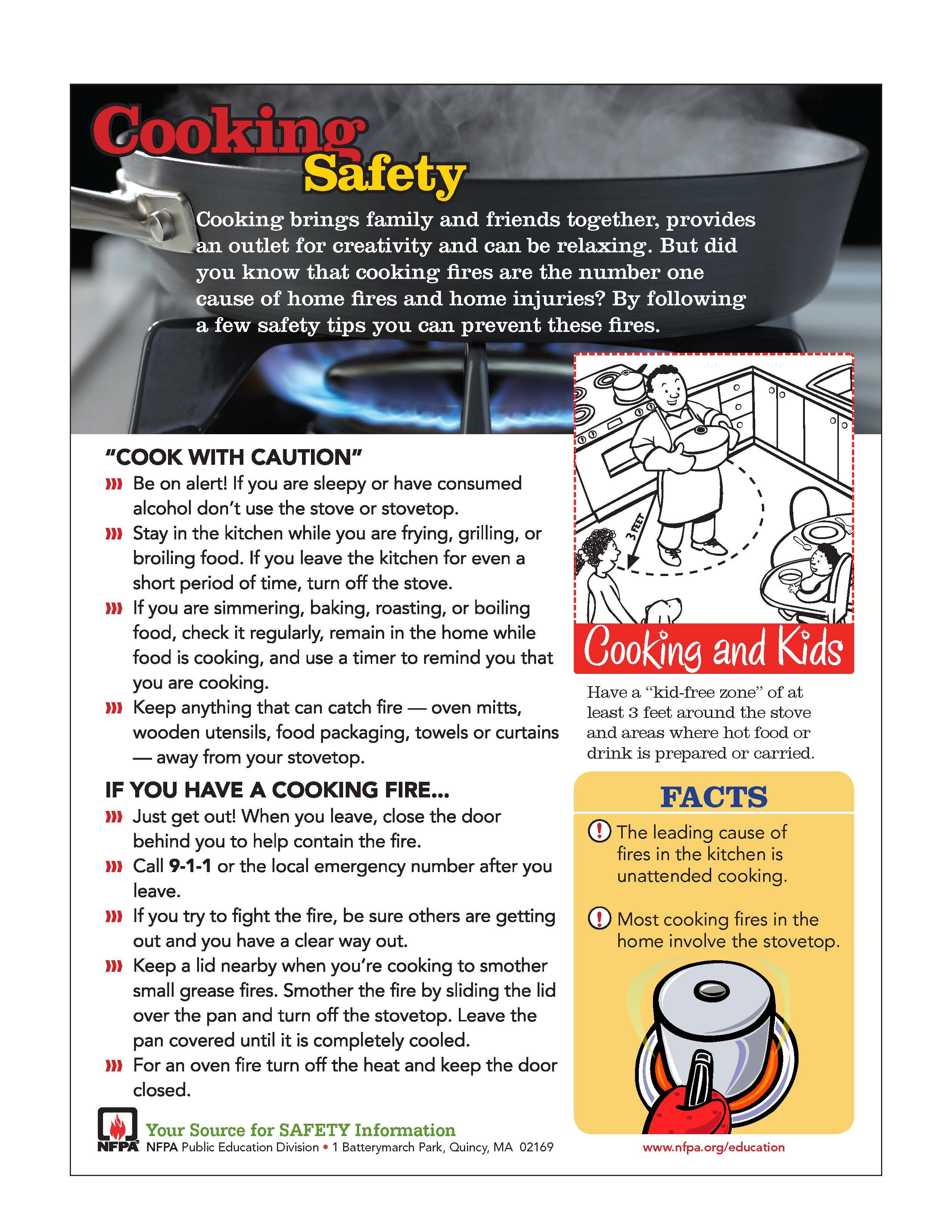 Making dinner for your Valentine? Cooking safety tips, courtesy of ...