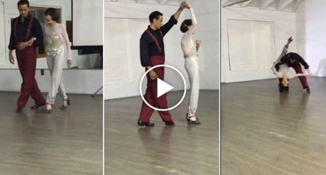 Mulher De 92 Anos Impressiona Ao Dançar Com a Mesma Flexibilidade De Uma Jovem