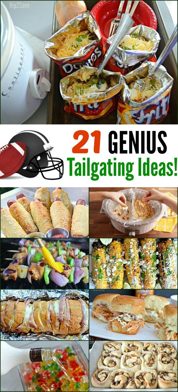 Huddle Up! We're Sharing 21 Of Our Favorite Tailgating Recipe Ideas - Hip2Save