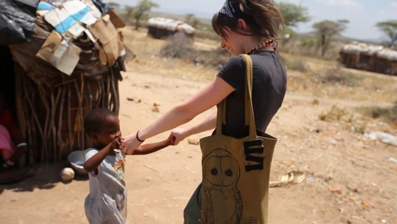Lindsey Stirling in Kenya