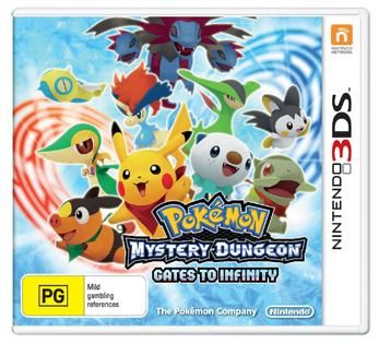 3DS Pokémon Mystery Dungeon: Gates to Infinity ~ $59.95