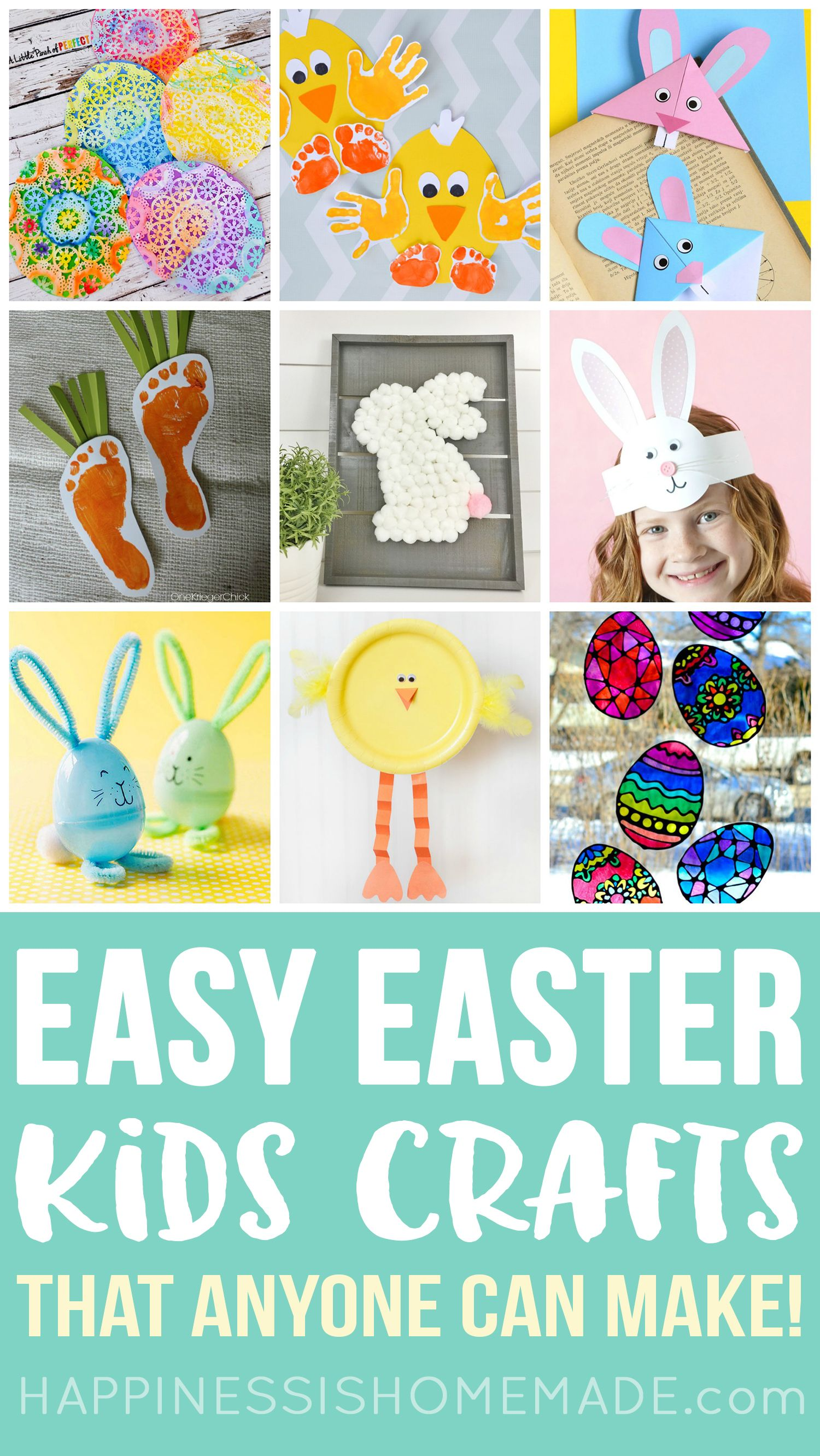 Easter Kids Crafts These 30 Quick And Easy Easter Crafts For