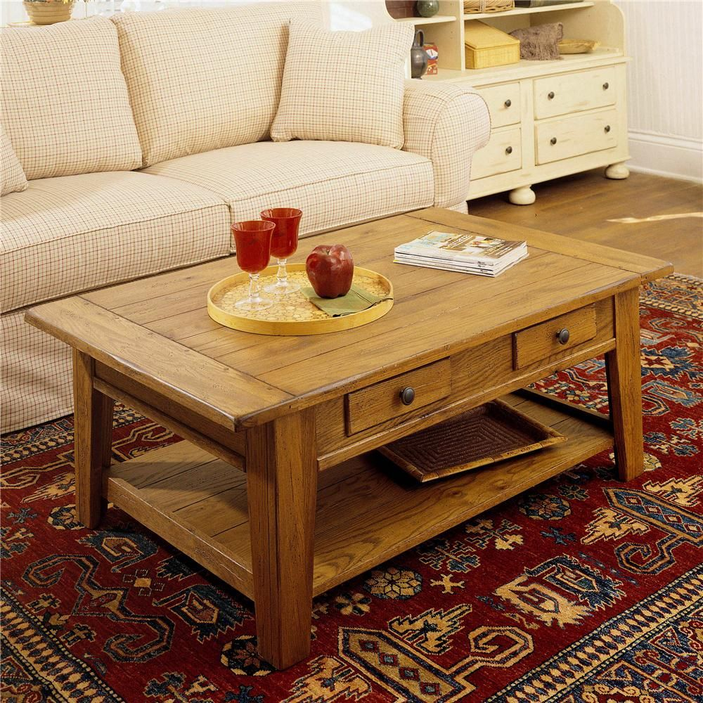 Best Attic Heirlooms Cocktail Table By Broyhill Furniture 400 x 300