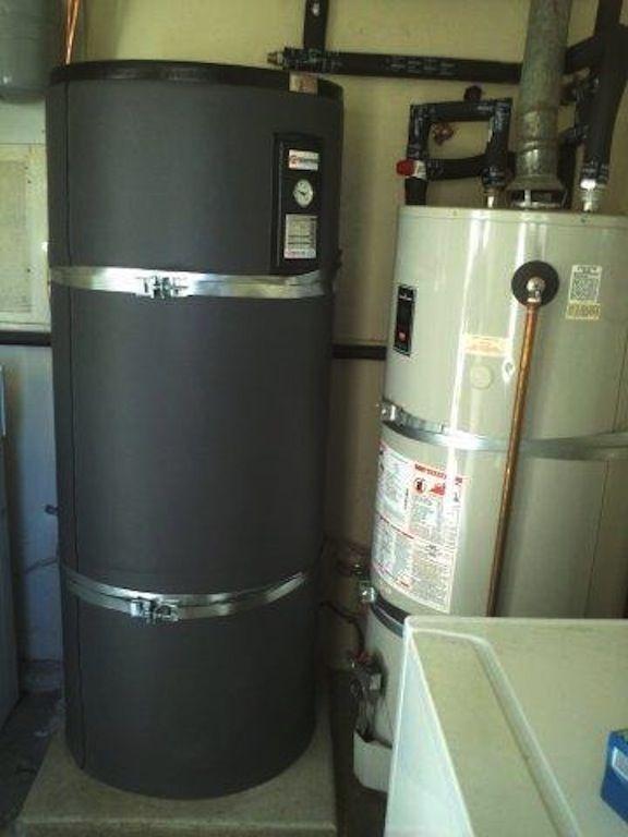 Solar Thermal Water Tank Set Up Solar Thermal