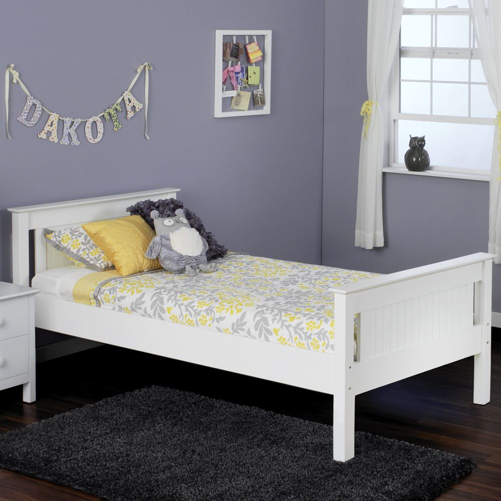 Jayden platform bed available in twin or full. Twin bed