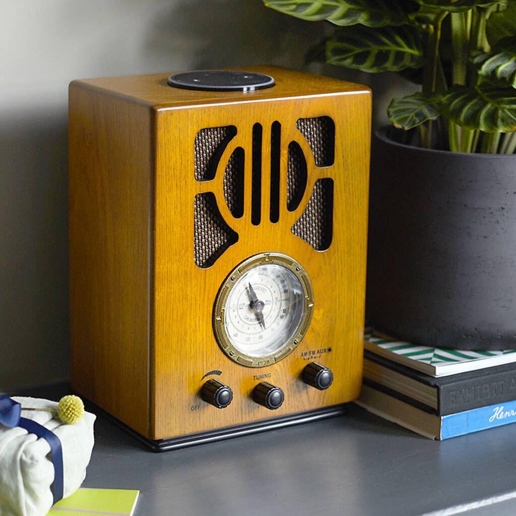 Steepletone Old Style Radio With Amazon Alexa in 2020