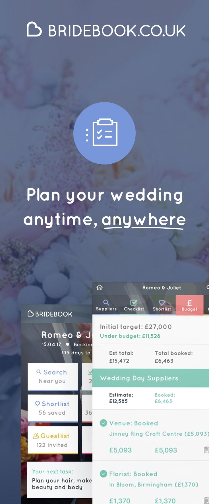wedding planning checklist spreadsheet free%0A SIgn up to Bridebook  the free online wedding planner  We u