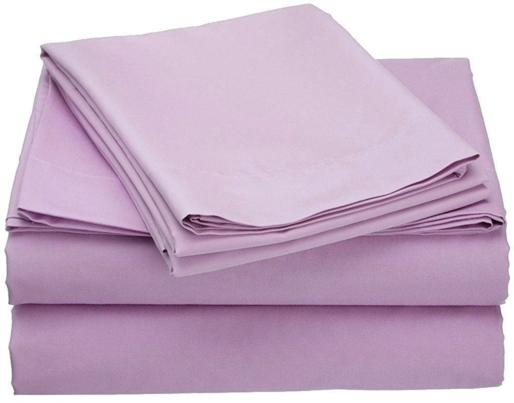 US All Size Bedding Items 100/% Pima Cotton 1000 Thread Count Pink Solid
