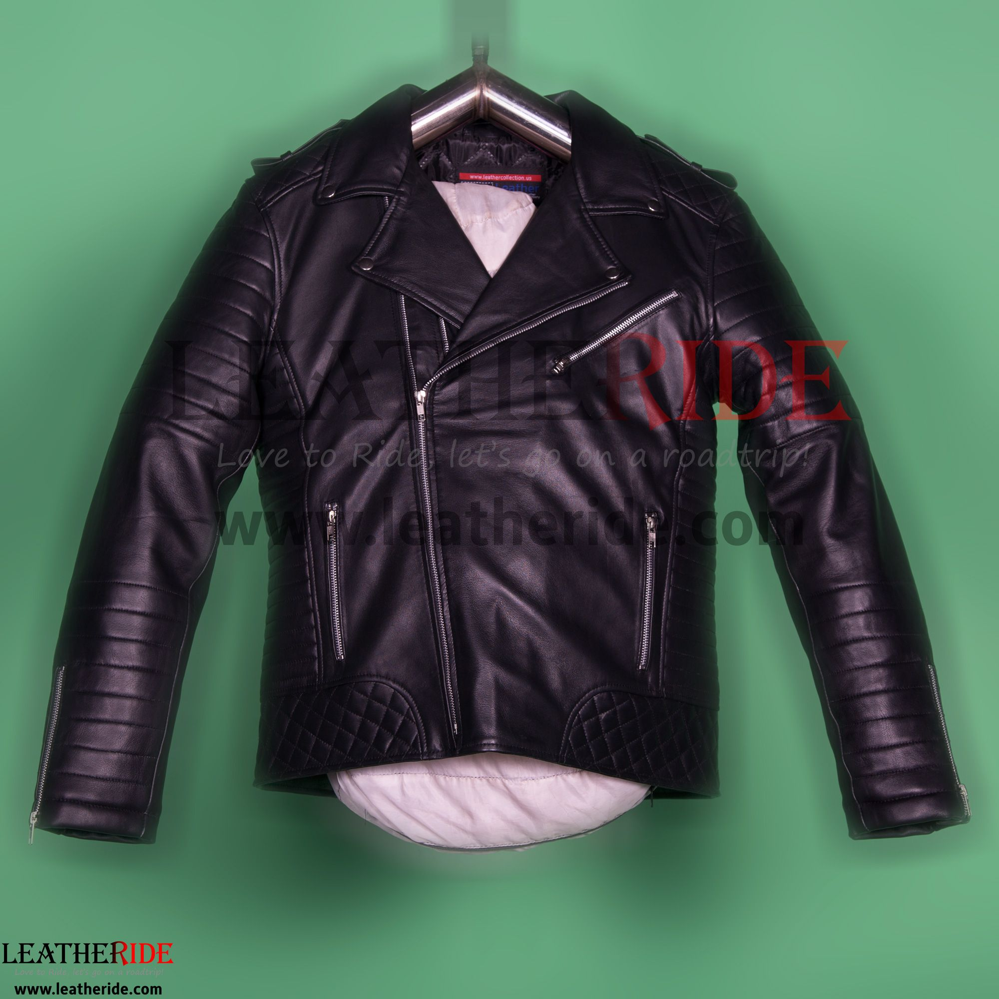 Biker Mens Black Quilted Leather Jacket This Enormous Piece Of Leather Quilted Jacket Is Made Up Of Premium Nappa She Leather Jacket Leather Jacket Men Jackets [ 2000 x 2000 Pixel ]