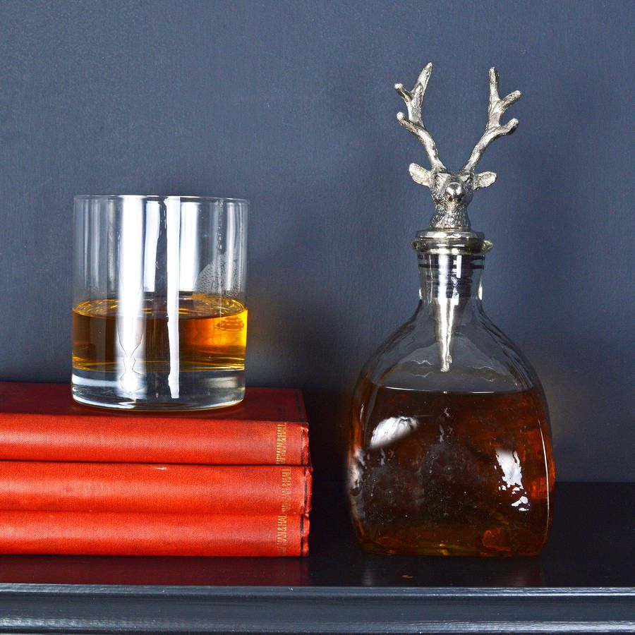 Are You Interested In Our Stag Whisky Decanter With Our Whisky Decanter With Stag Antler Design You Need Look Whisky Decanter Unique Homewares Quirky Homeware