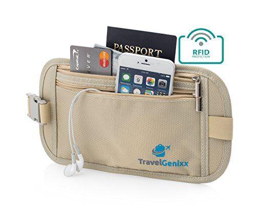 044a007eb59 Pochette Sécurisée de Voyage Super Deluxe Avec Technoloque RFID pour  protegé et cacher tous vos biens