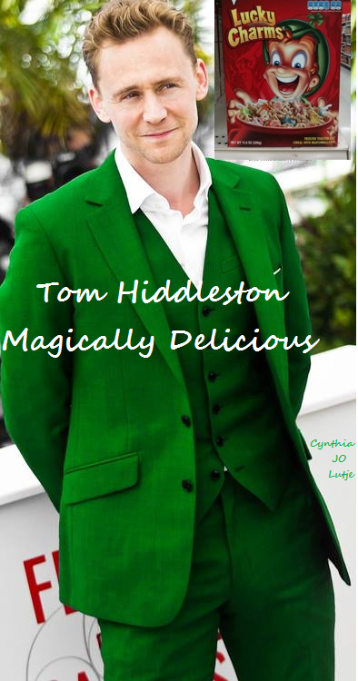 89a1ba2dd HAPPY St. Patrick's Day!!! ☺ Tom Hiddleston is magically delicious ...
