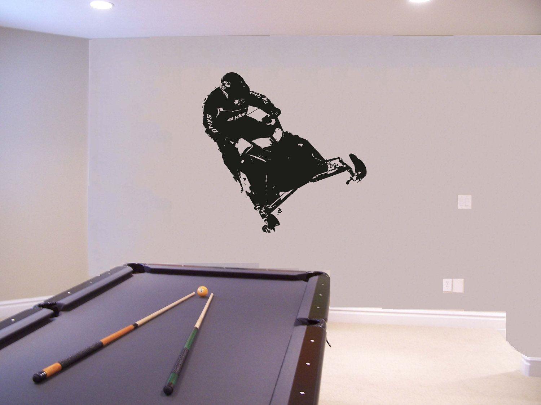 best 25 boys wall stickers ideas on pinterest superhero boys wall sticker mural vinyl snowmobiles snowmobile ski doo 004
