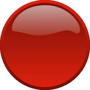 Button Clip Art Red Art