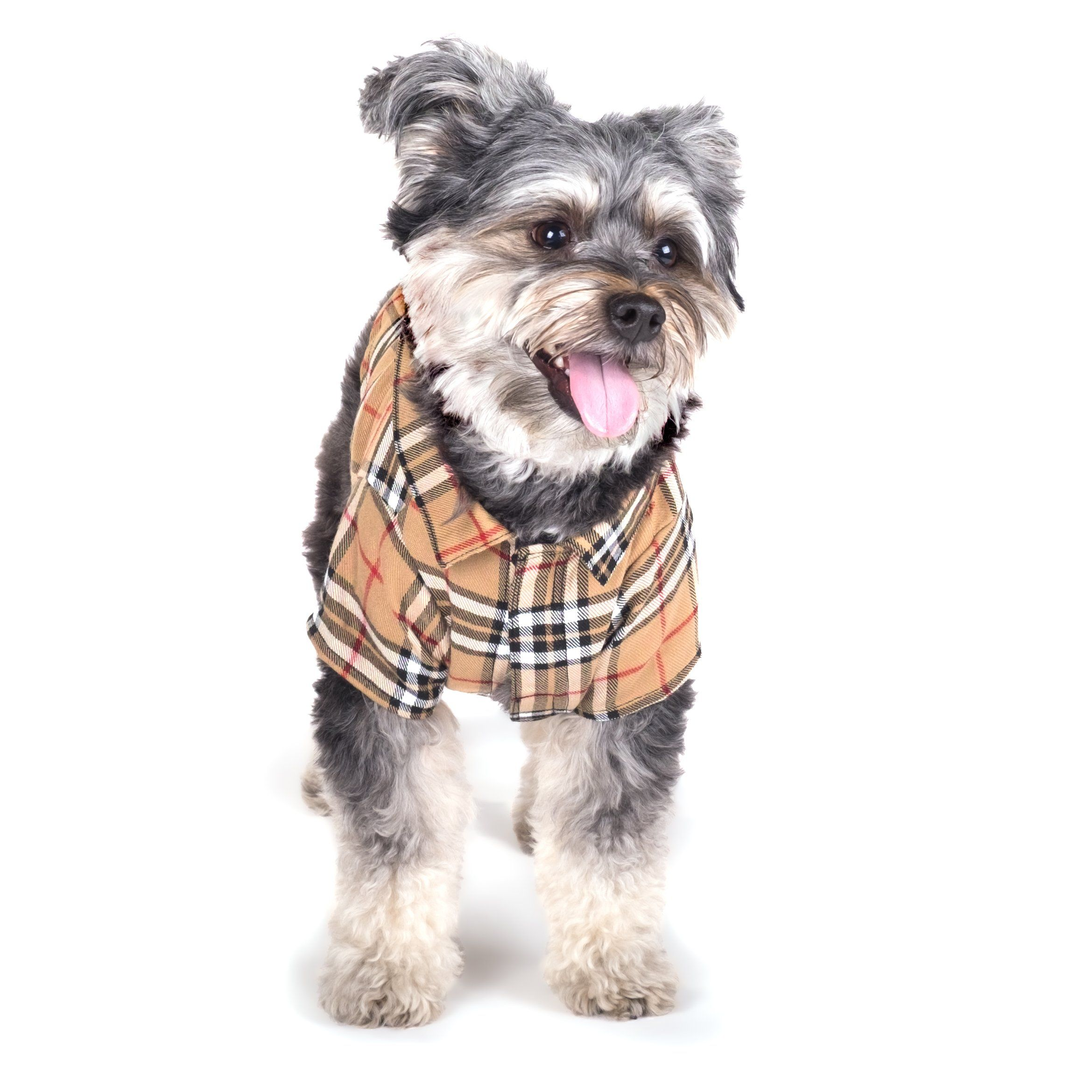 Tan Plaid Shirt Tan S Check Out This Great Product
