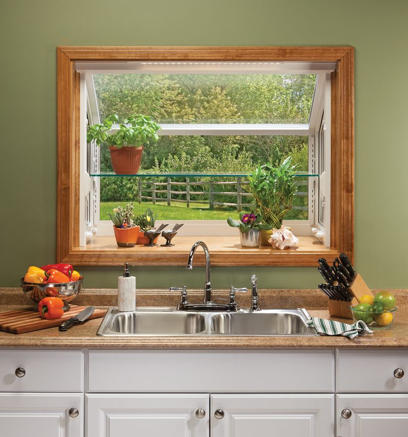 Icon Of How To Decorate Garden Windows For Kitchens So That The