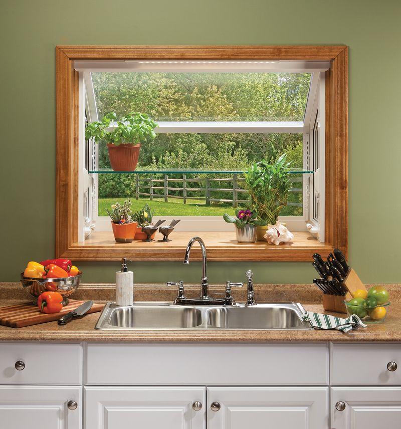 kitchen garden window garden windows
