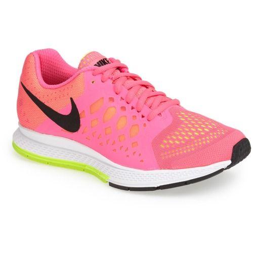 newest 6aa9a 32ed4 100.00 Nike Air Pegasus 31 Running Shoe (Women) Hyper Pink Volt 7 M