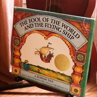 It's a rainy day here with hurricane Michael passing over us, and we read this Russian Tale at circle this morning! I LOVE this tale!!! It's funny, so there was lots of laughter. It also contains the more serious message of having faith in yourself no matter the circumstances ... even if you are not very bright, are poor, or have had terrible parenting! So if you can achieve your dreams even in all those circumstances, then life is pretty good. It's also a story of someone who practices positive