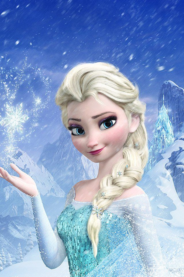 Freeios7 Elsa Frozen Queen Parallax Hd Iphone Ipad Wallpaper Disney Billeder Disney Elsa
