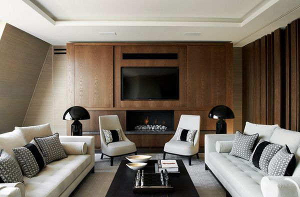 21 Beautiful Symmetrical Living Rooms Living rooms and Room