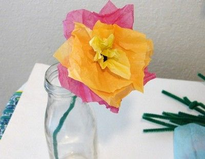 Tissue paper flowers tissue paper flowers tissue paper and craft tissue paper flowers mightylinksfo Gallery