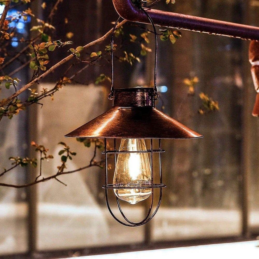 Pin By Sandy Zazula On Outdoor Solar Lights Solar Hanging Lanterns Solar Lantern Lights Solar Lights Garden
