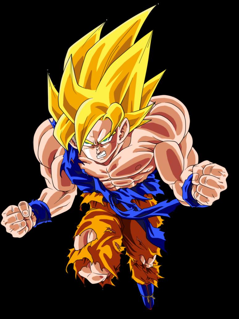 Goku SSJ by BardockSonic