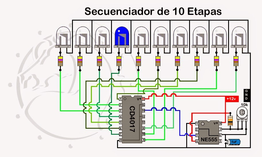 Vumetros A Led Descubre Los Secretos De Un Armado Exitoso Vumetro A Led Con Efecto Analizador Circuito Eletrônico Esquemas Eletrônicos Pisca Pisca De Led