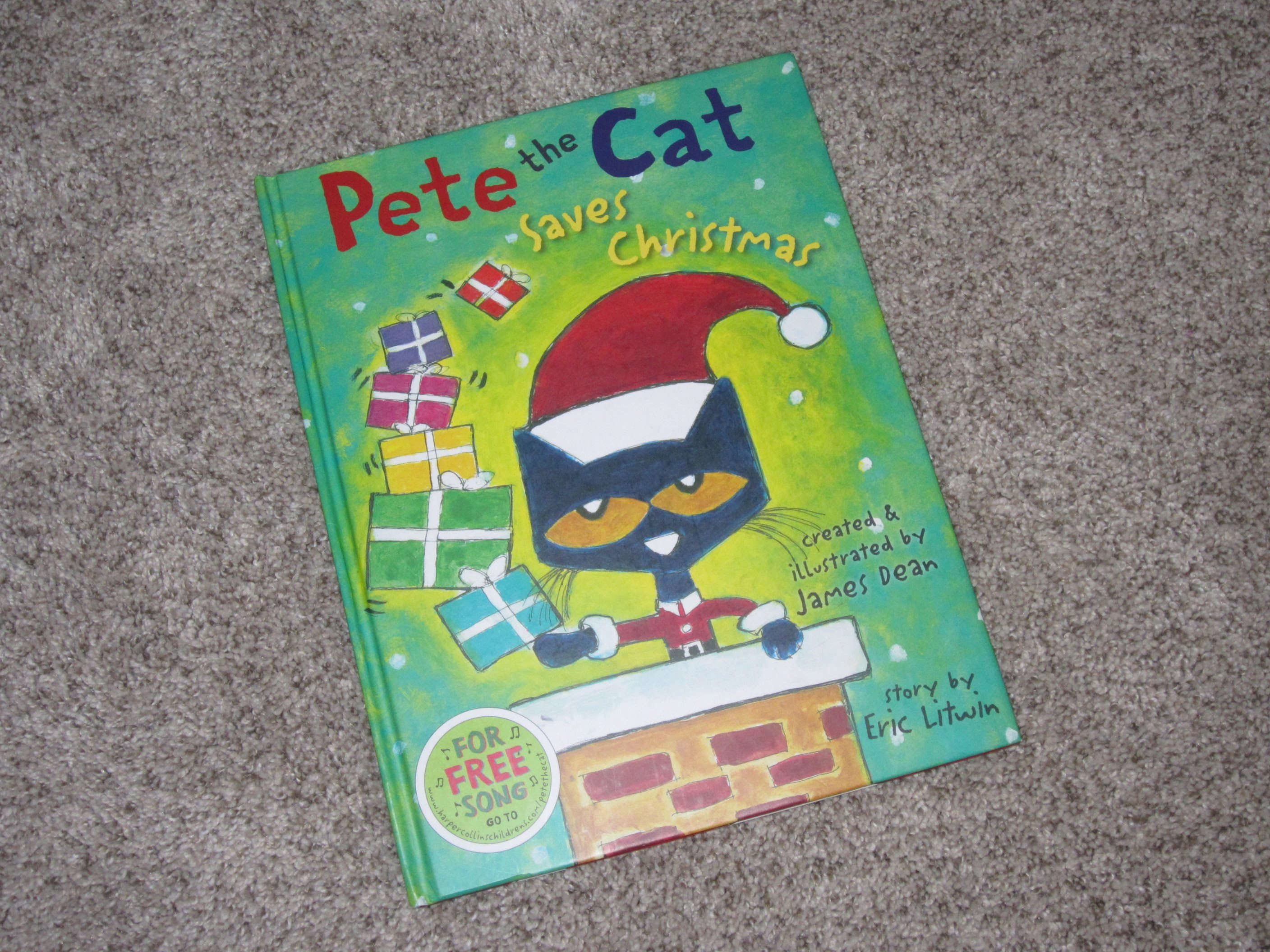 Pete The Cat Saves Christmas Children S Read Aloud Story