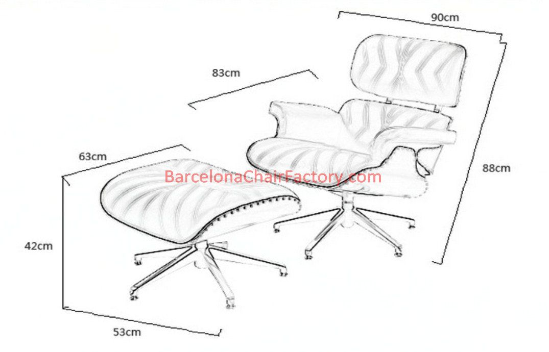 fantastic eames chair dimensions with lounge chair dimensions