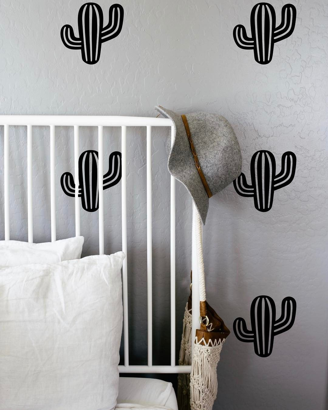 Are you cactus crazy like me ?!  If so you can snag a set of these wall decals at levilovelydesigns.etsy.com in March for LL's (online) grand opening! Plant lady is the new cat lady y'all!  #plantlady #cactusgram