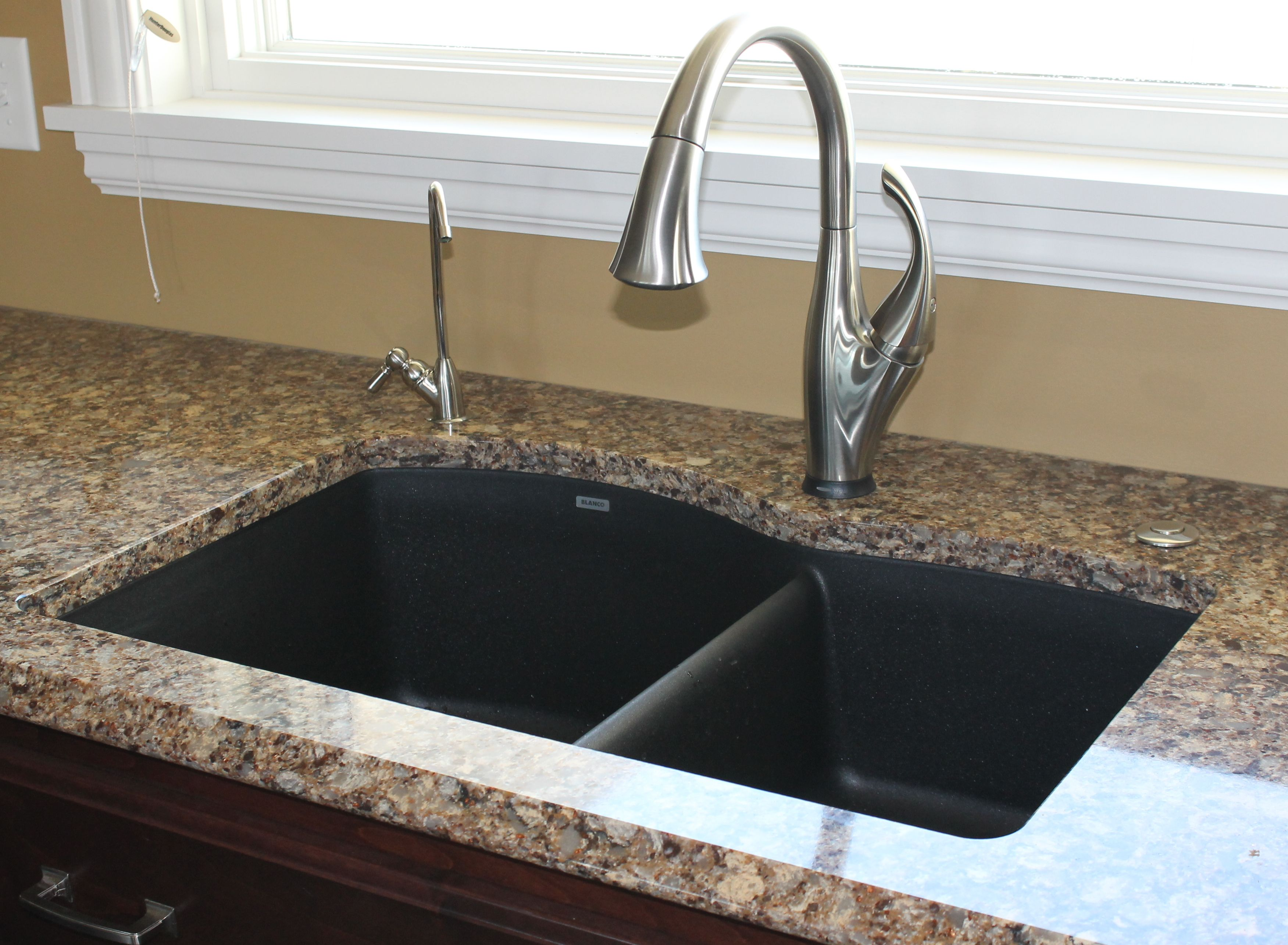 Love The Blanco Silgranit Kitchen Sinks Pair It With A Delta