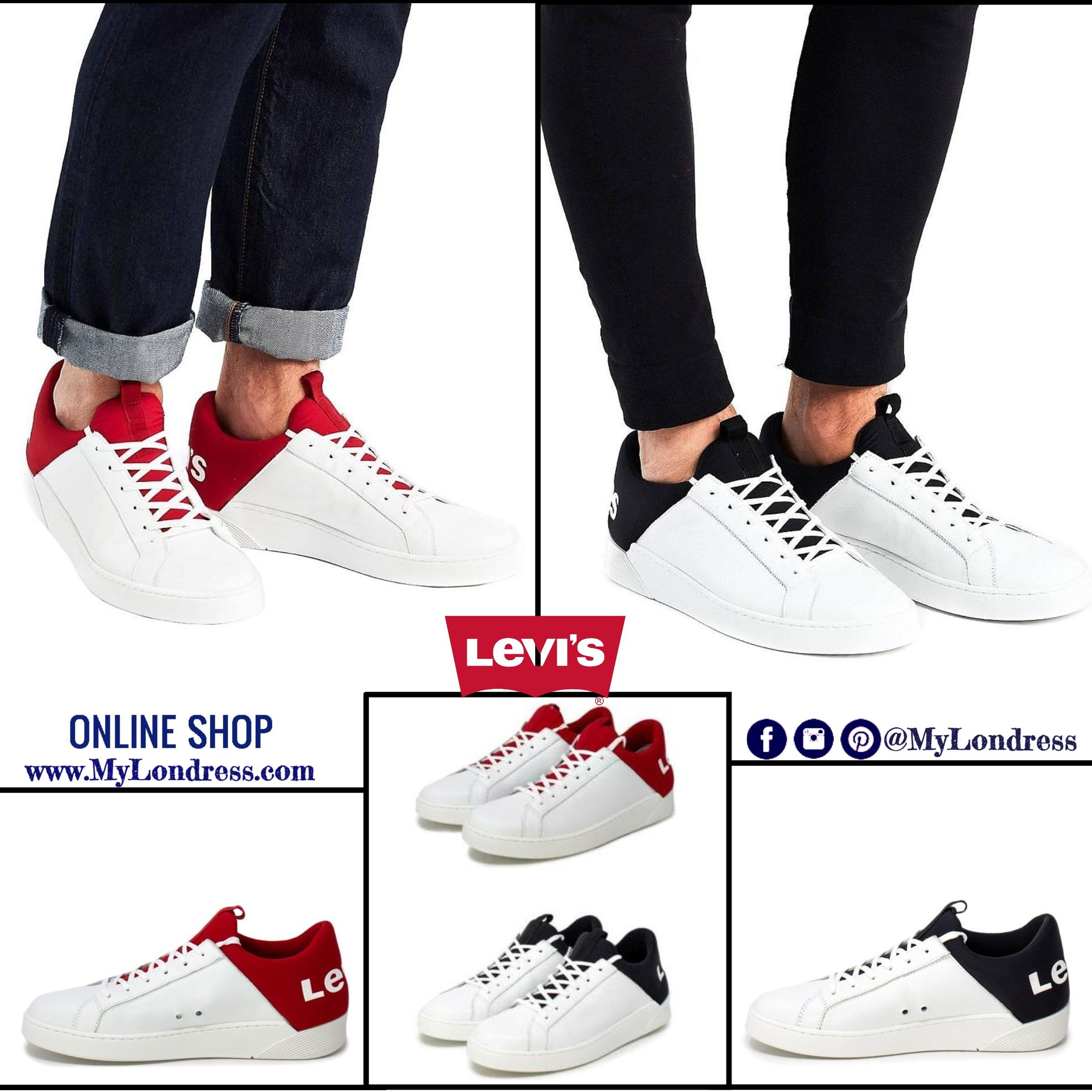 Men Mullet sneakers with oversize logo