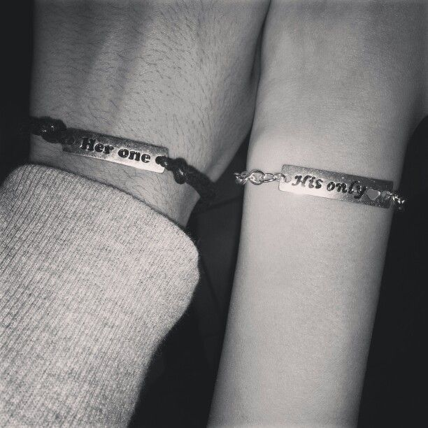 ab2f459f88e Cute couple bracelets