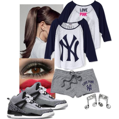 new york yankees outfit polyvore