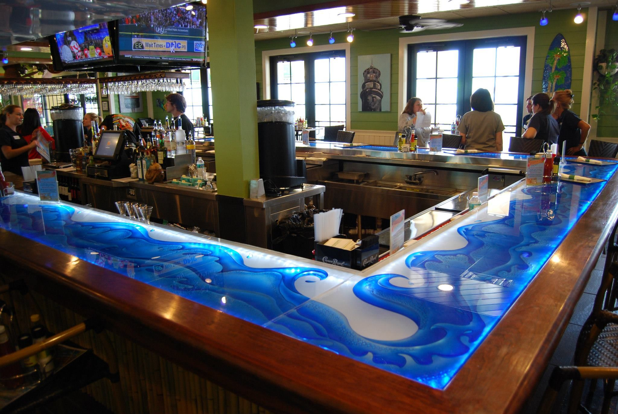 Glass Counter Tops Artistry In Glass Mulligans Beach