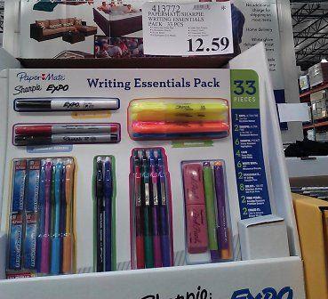 costco school supply deals pencils binders notebooks backpacks snacks