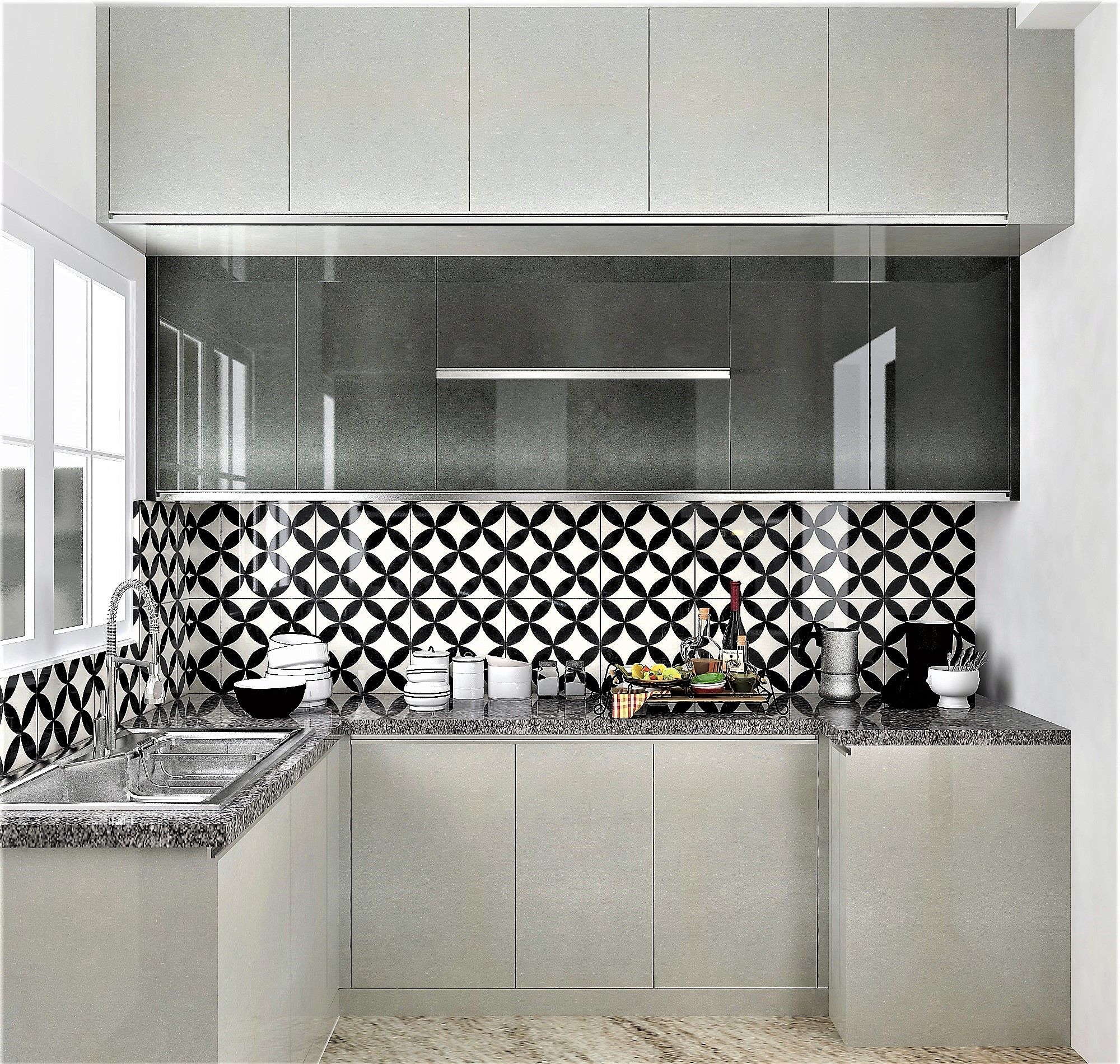 Bold Patterned Backsplash Tiles Are In For 2020 And Give S A Fun