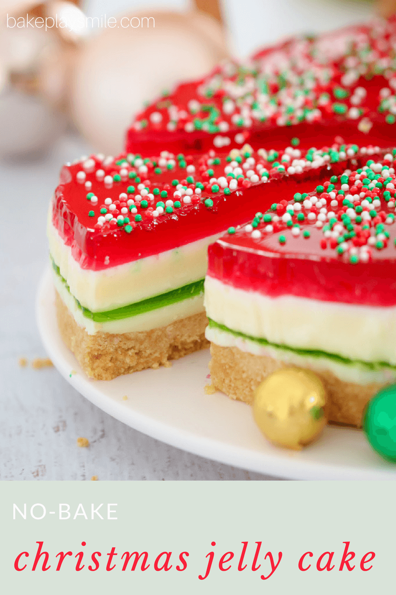Christmas Jelly Cake - Conventional Method   Recipe   Jelly cake ...