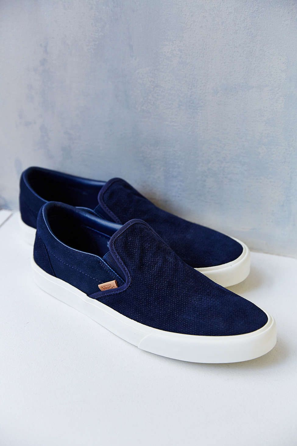 Vans Classic California Knit Suede Slip On Men's Sneaker