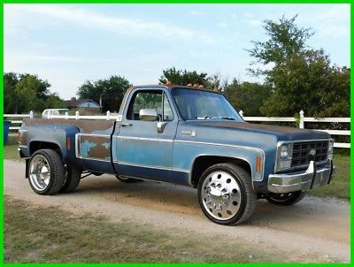 1980 Chevy C30 Silverado Dually Single Dually Pinterest