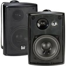 Auvio 400016 Auvio 4 Inch 3 Way Indoor Outdoor Speakers